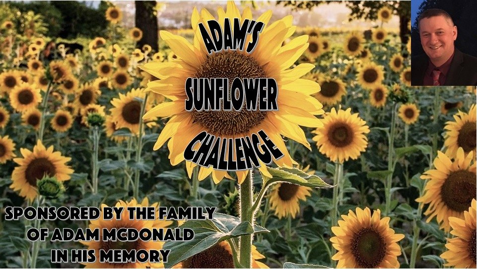 Adam's Sunflower Challenge