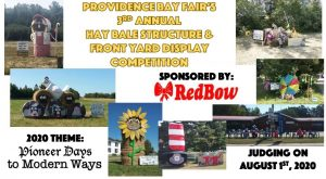 Hay Bale Structure & Front Yard Display Competition