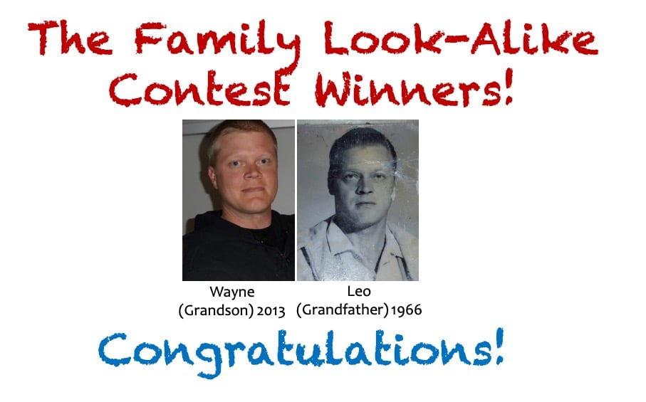 The Family Look-Alike Contest Winners