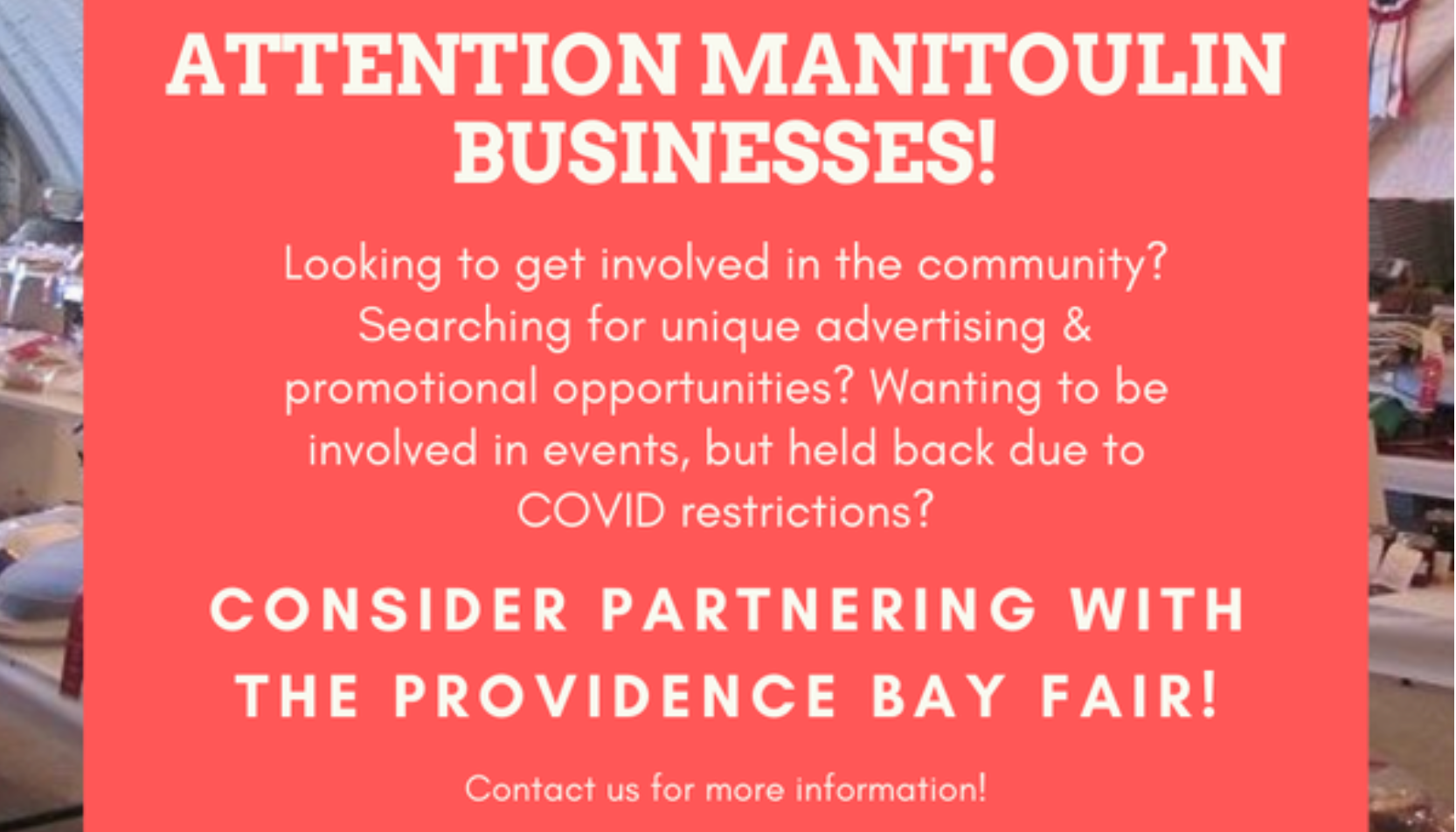 Attention Manitoulin Businesses!
